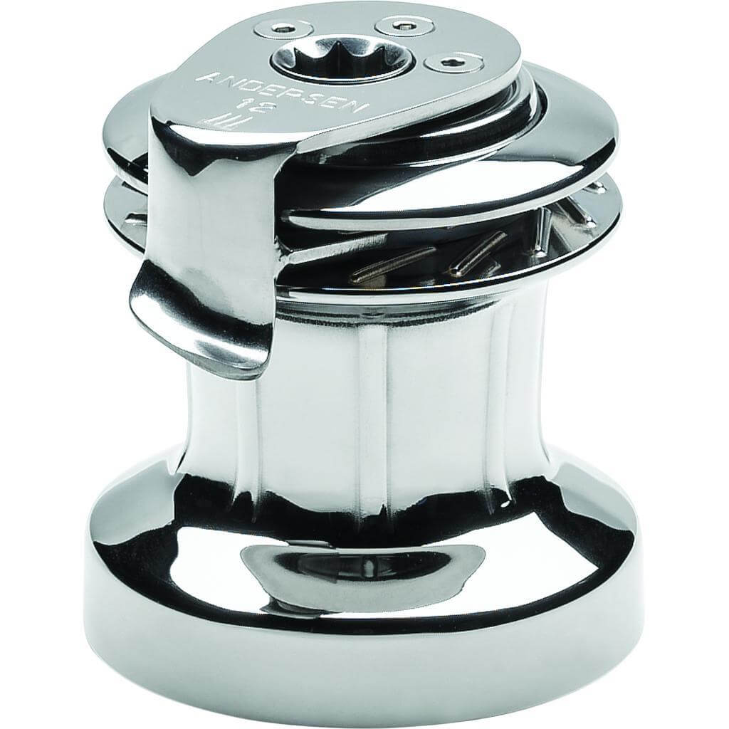 12 1-Speed Stainless S/T Winch