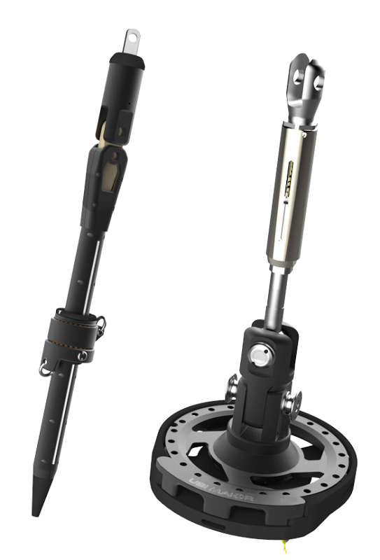 Jiber-TX 15 Furler - Continuous: drum, shaft & halyard swivel